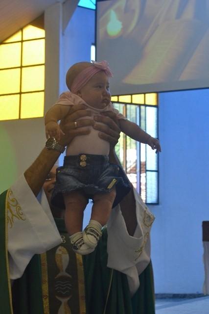Entrega da Bíblia novos Crismandos 2014/2015