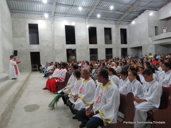 Domingo de Ramos e Paixão do Senhor – Comunidade do Sagrado Coração de Jesus- Monsuaba