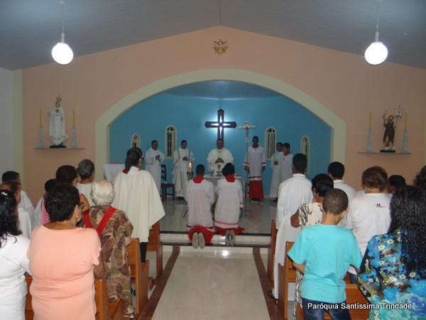 Anunciação do Senhor e Inauguração da nova Capela da comunidade da Água Santa