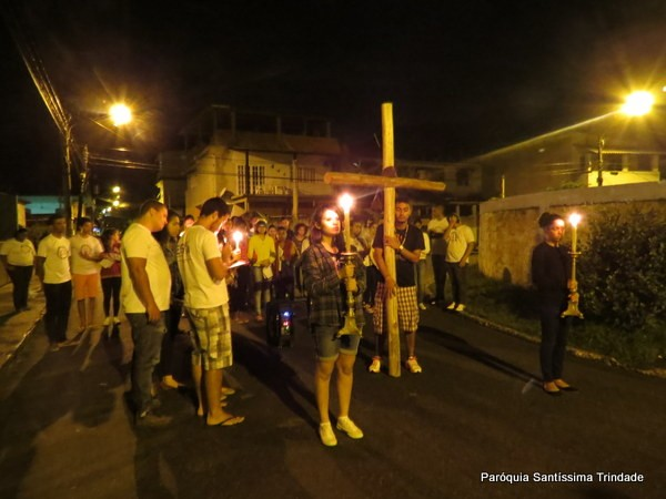 III Vigília da PJ na Comunidade do Sagrado Coração de Jesus Monsuaba