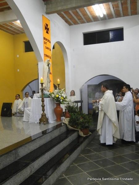 III Dia do Tríduo da Santíssima Trindade e Coroação de Nossa Senhora
