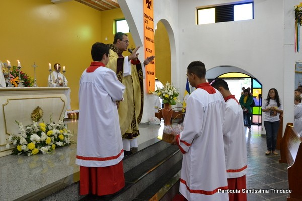 Festa da Santíssima Trindade e Envio das Imagens Peregrinas do Sagrado Coração de Jesus