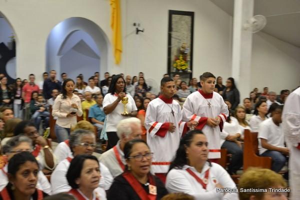 Corpus Christi e 1° Comunhão Crismandos