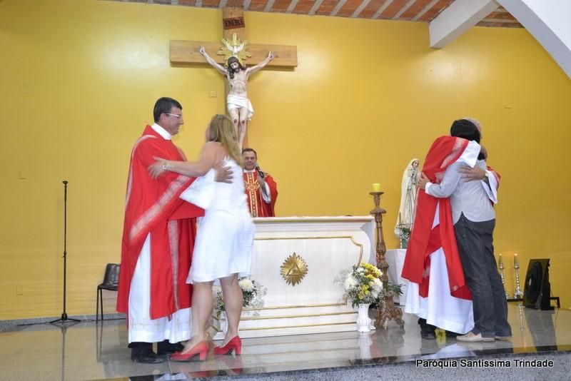 Solenidade de São Lourenço e Aniversário de Ordenação dos Diáconos Sidnei e Gil