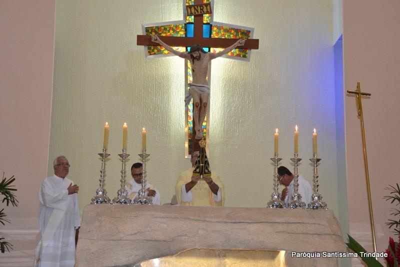 2° Dia da visita da Imagem Peregrina de Nossa Senhora Aparecida em nossa Paróquia