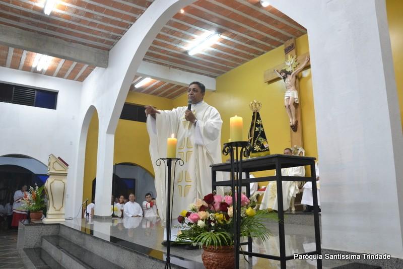 1° Dia da visita da Imagem Peregrina de Nossa Senhora Aparecida em Nossa Paróquia