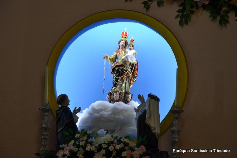 1° Dia da Novena de Nossa Senhora do Rosário do Camorim Grande