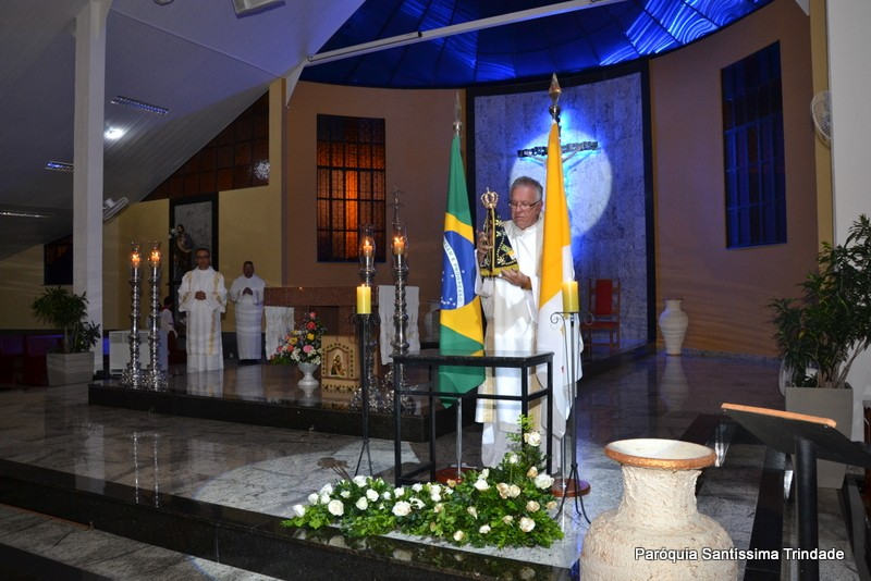5° Dia da visita da Imagem Peregrina de Nossa Senhora Aparecida em nossa Paróquia