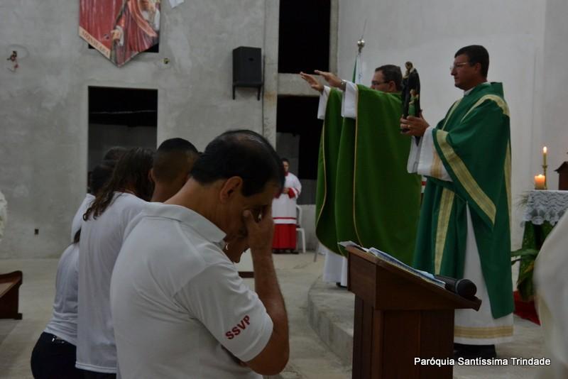 Cinco Intenções da Conferência S.S.V.P. Comunidade Sagrado Coração de Jesus monsuaba