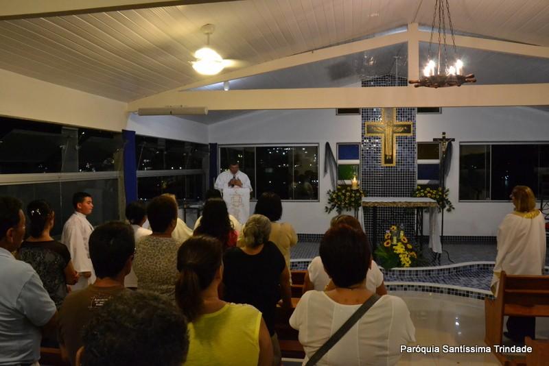 1 Dia do Tríduo de Nossa Senhora Aparecida Praia do  Machado