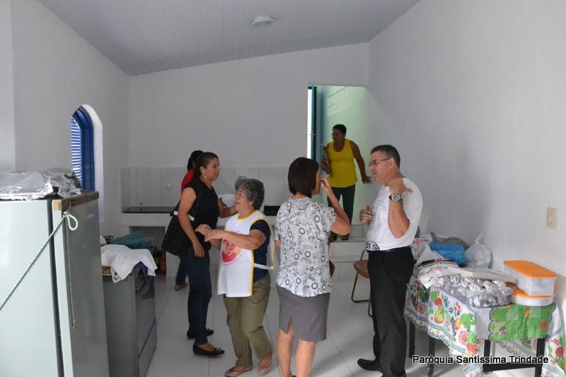 Inauguração da nova Igreja de Nossa Senhora Aparecida e São Frei Galvão Lambicada