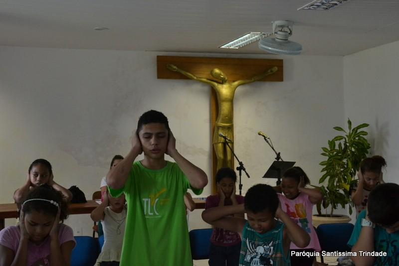 Retiro da Catequese em preparação da Primeira Eucaristia