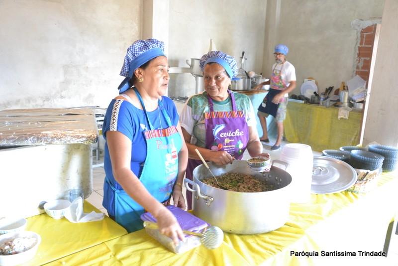Almoço Feijão tropeiro na Comunidade de São Benedito Camorim Pequeno