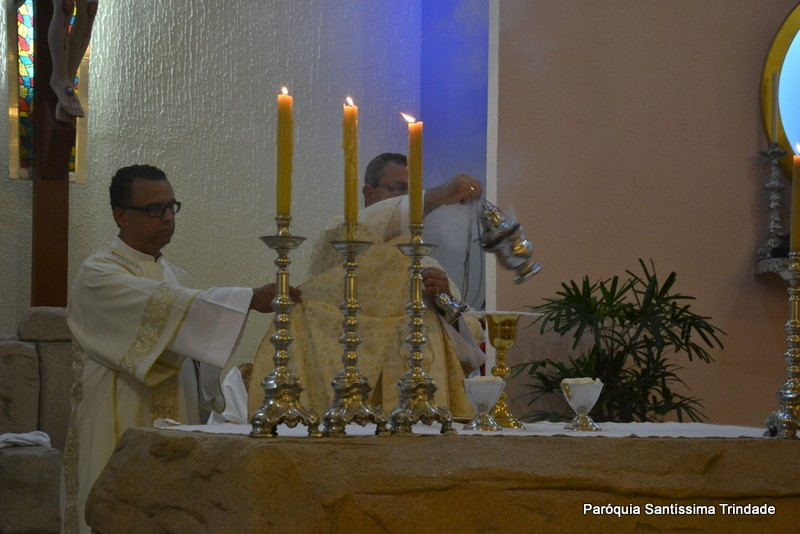 Solenidade do Natal do Senhor Missa do dia na Comunidade de Nossa Senhora do Rosário Camorim.