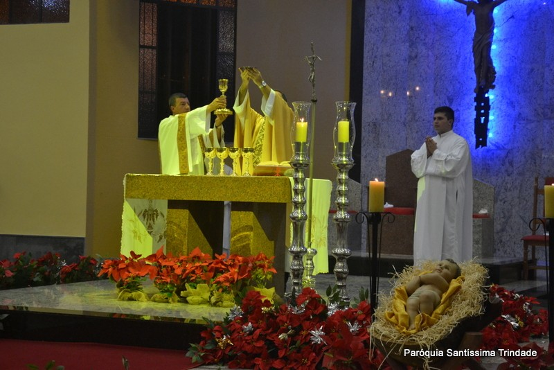 Solenidade do Natal do Senhor Missa da Noite na Comunidade de São José Operário Village.