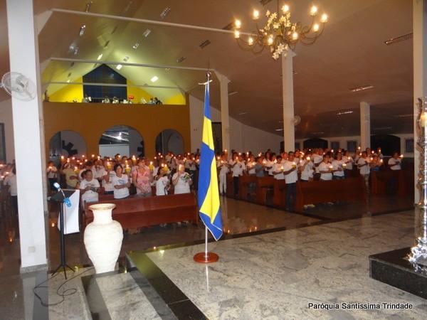 Santo Terço Luminoso Nossa Senhora de Lourdes