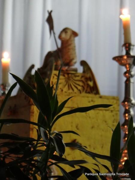 Missa do Lava Pés e Vigília Eucarística Village
