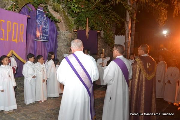 Procissão do Encontro e Via Sacra Paroquial