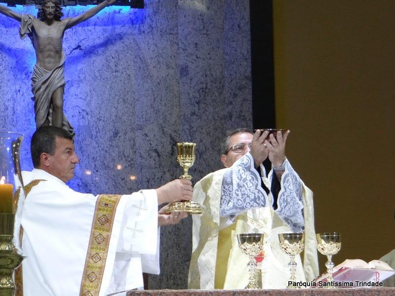 Cristo Rei e Entrega das insígnias do Apostolado da Oração