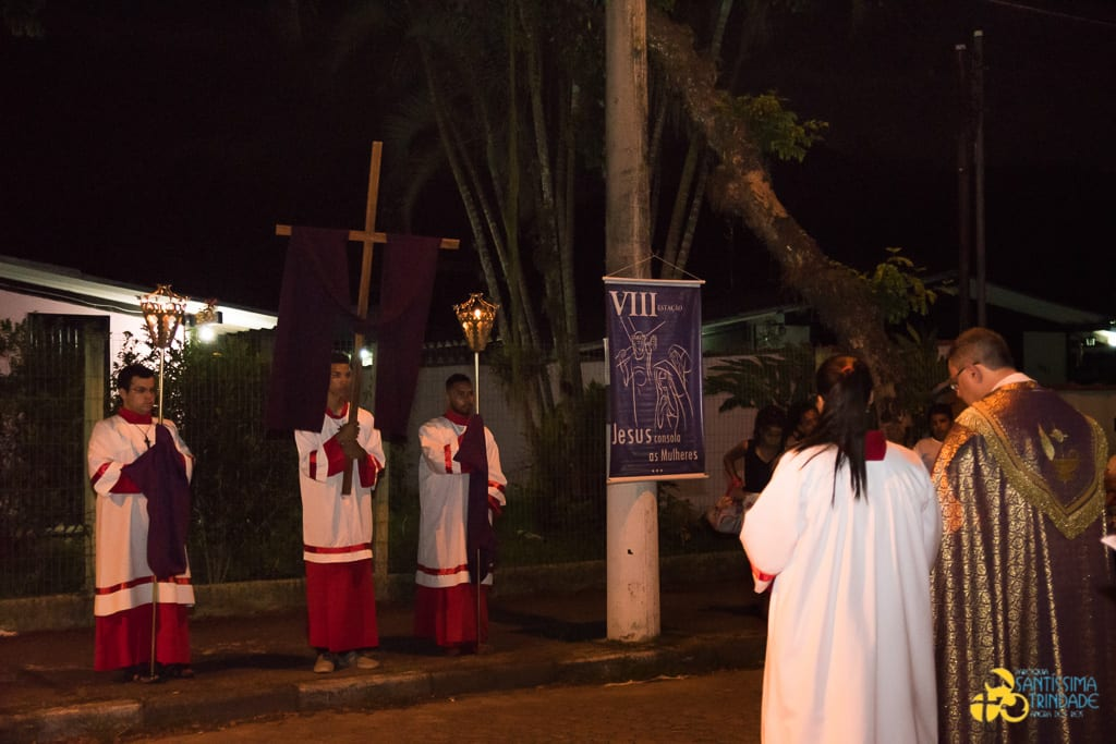 Semana Santa – Via-Sacra / Procissão do Encontro – Santíssima