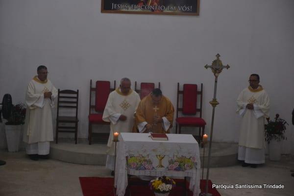 Solenidade da Ascensão do Senhor e Levantamento do Mastro do Sagrado Coração de Jesus Monsuaba.