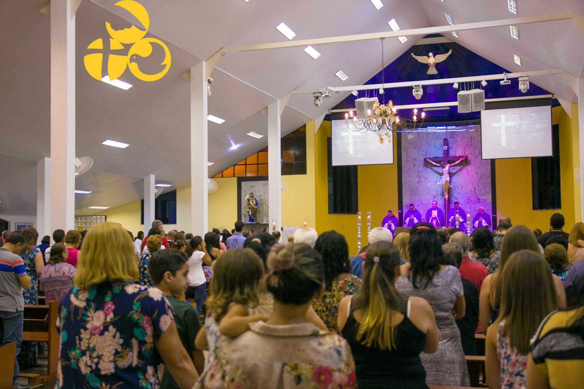 Missa com Envio dos Coroinhas – 25 de Fevereiro de 2018 – Vilage – SJO