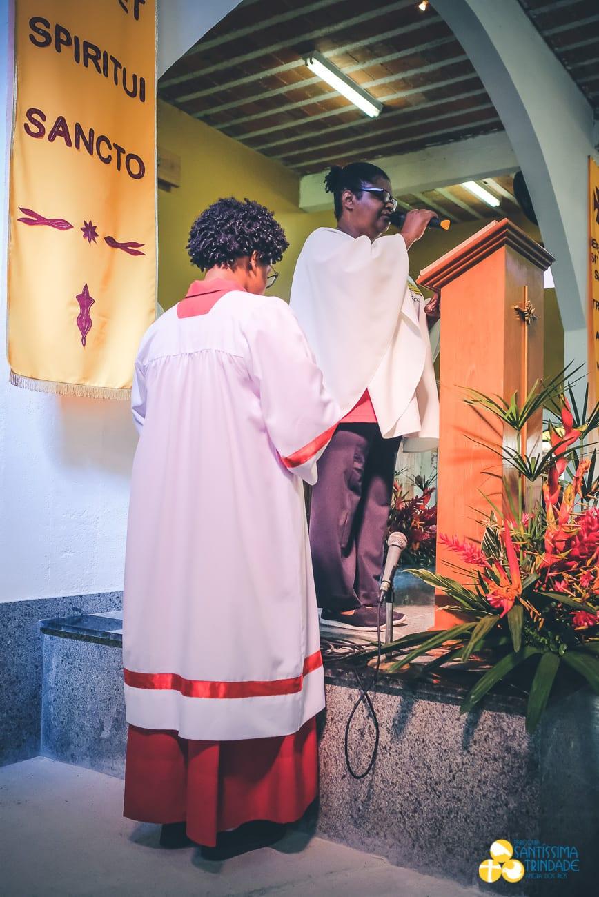 Procissão e Missa Solene em honra a Santíssima Trindade – 27Mai2018