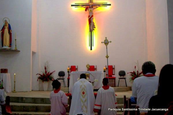 1° Dia da Novena do Sagrado Coração de Jesus Monsuaba 08jun2018