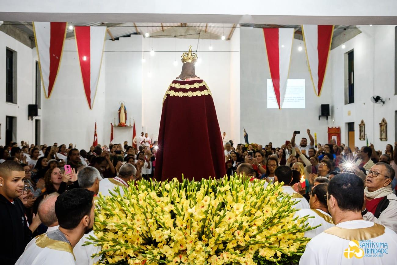 Procissão e Missa do Sagrado Coração de Jesus Monsuaba 17jun2018