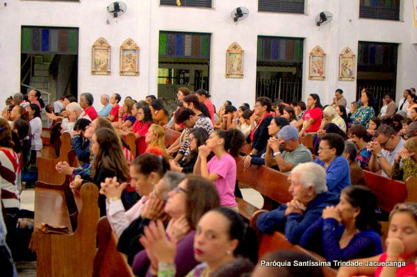 4° Dia da Novena do Sagrado Coração de Jesus Monsuaba 11jun2018