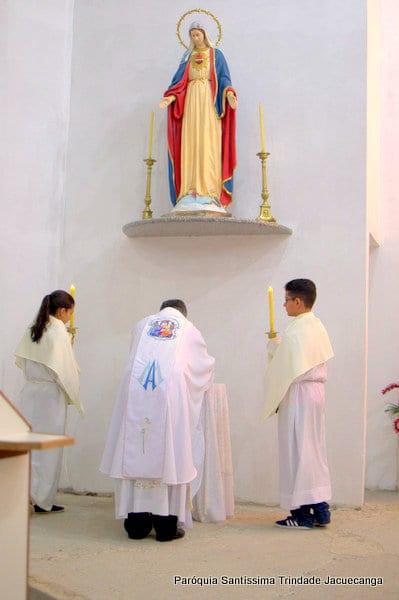 2° Dia da Novena do Sagrado Coração de Jesus Monsuaba 09jun2018