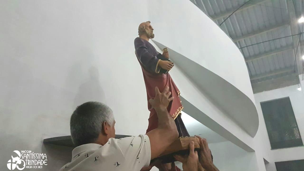 Bênção e entronização das imagens da Igreja Sagrado Coração de Jesus – Monsuaba – 29Set2018