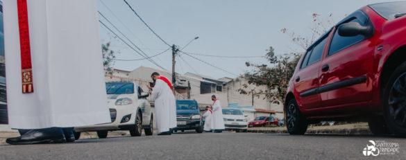 Missa São Cristóvão com Benção dos Veículos – 26Jul2020 – Village