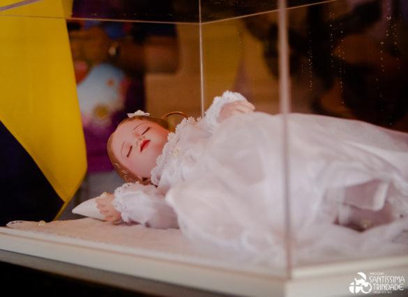 Benção da imagem de Nossa Senhora Menina – 21Nov2020 – Matriz
