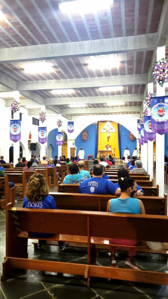 1º Dia – Setenário Nossa Senhora das Dores – 09Set2021 – Matriz