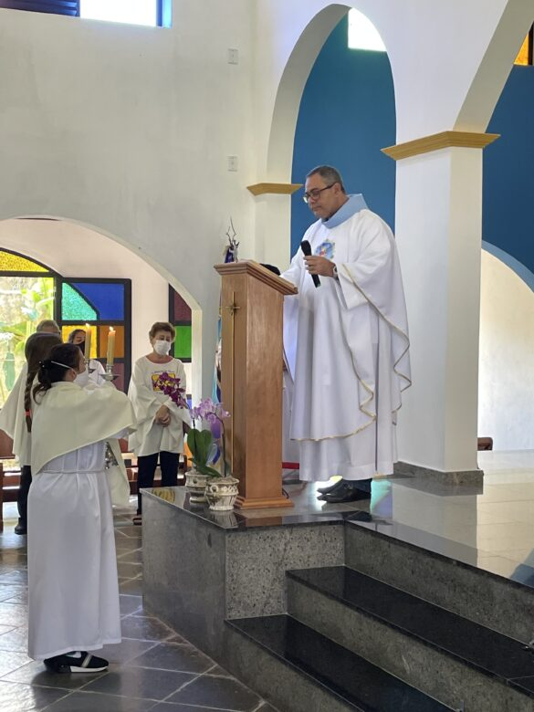 27º Domingo Do Tempo Comum – Descida do mastro de Nossa Senhora das Dores – 03Out2021 – Matriz