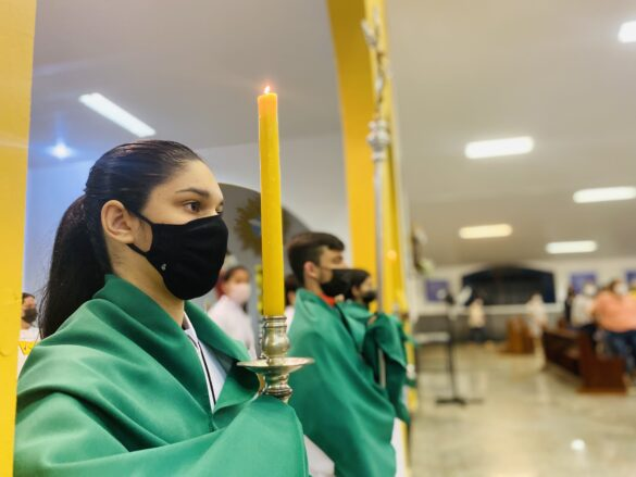 Missa do 27º Domingo Do Tempo Comum – Apresentação dos novos crismandos – 03Out2021 – SJO